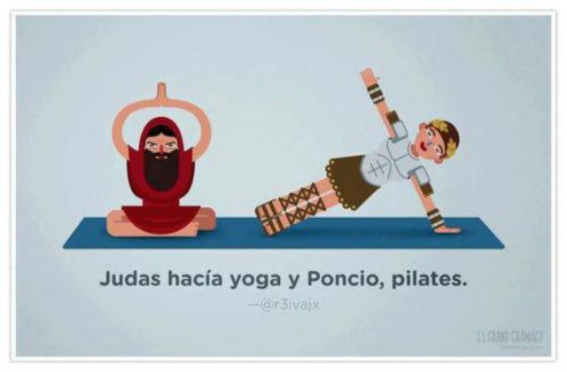 Poncio hace Pilates