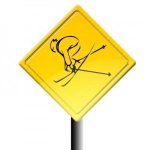 Cómo evitar las lesiones durante la práctica del esquí