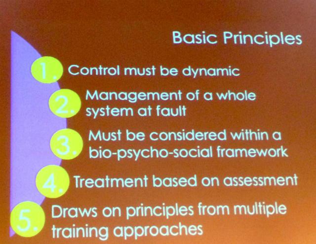 Principios básicos de un programa de movimiento
