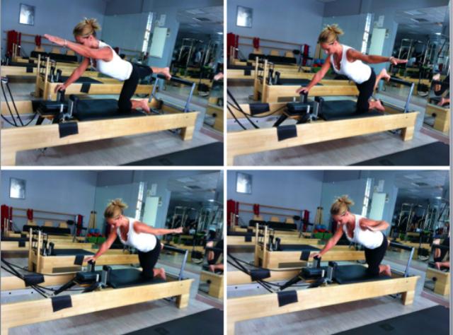 Variación Quadruped Series con brazos para mejorar la brazada