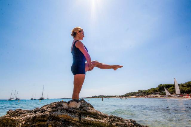 Ejercicio Single Leg Balance cambio de pierna 2