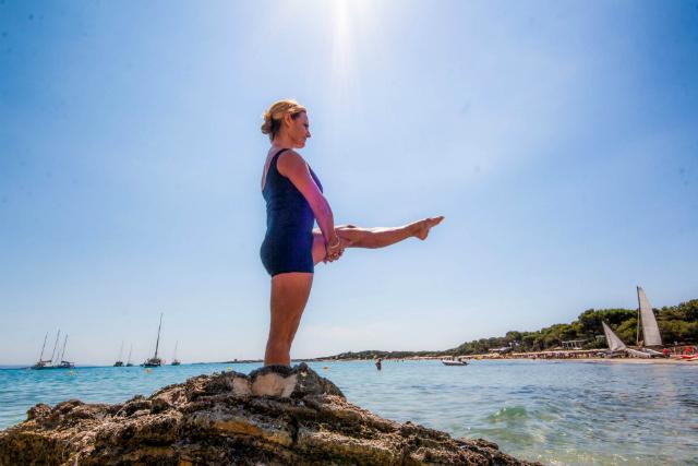Ejercicio Single Leg Balance cambio de pierna