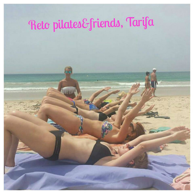 #PilatesAndFriends, Pilates en Tarifa, reto de Pilates