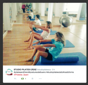 Studio Pilates Cádiz para el reto de Pilates de Polestar