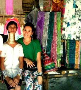 Las mujeres jirafa de Tailandia se animan con #PilatesAndFriends