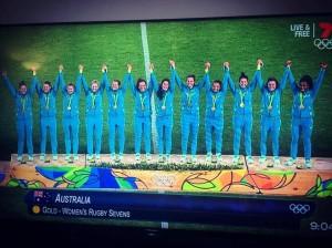 Ganadoras olímpicas de rugby 7: australia