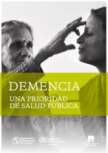 Demencia, una prioridad para la salud