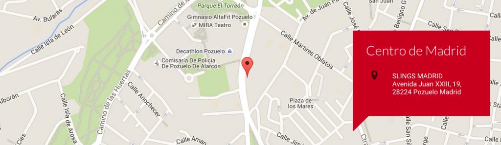 Centro Oficial Polestar Pilates en Madrid: Centro SLINGS