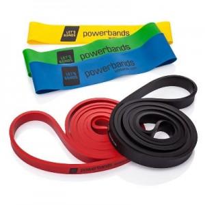 Bandas elásticas para clases de Pilates