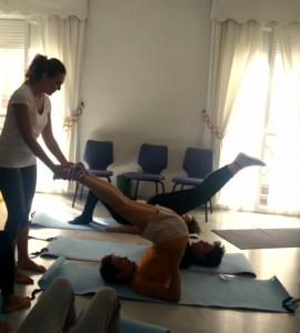 Sesiones de Pilates de la Mentora de Polestar en la AECC de Almería para pacientes de cáncer