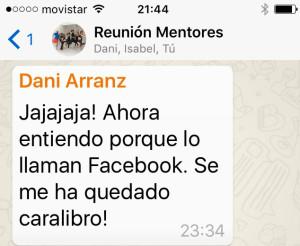 Daniel Arranz y el reto de las sentadillas  en redes sociales