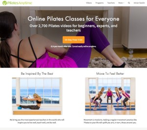 pilates anytime videos de pilates